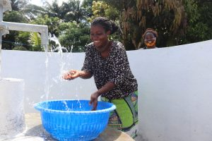 The Water Project:  Splashing Clean Well Water