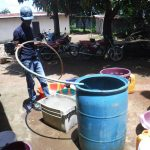 The Water Project: Lungi, Suctarr, #47 Kamara Street -  Yield Test