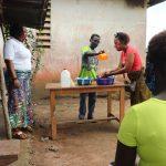 The Water Project: Lungi, Rotifunk, 22 Kasongha Road -  Handwashing Demonstration