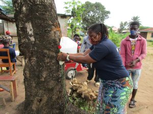 The Water Project:  Handwashing With A Tippy Tap