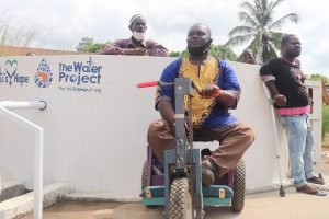 The Water Project:  Chair Abdul Kamara