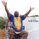 The Water Project: Lungi, Rotifunk, 22 Kasongha Road -  Chairman Celebrating