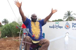 The Water Project:  Chairman Celebrating