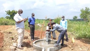 The Water Project:  Commissioning The Well