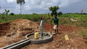 The Water Project:  Esther Fetching Water
