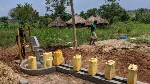 The Water Project:  Filling Up At The New Well