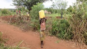 The Water Project:  Grace A Carrying Water