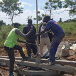 The Water Project: Alero B Community -  Installing The Pump