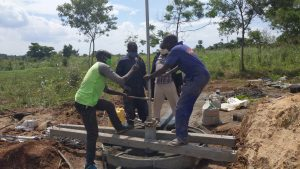 The Water Project:  Installing The Pump