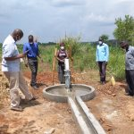 The Water Project: Alero B Community -  Leaders Gathered For The Well Commissioning