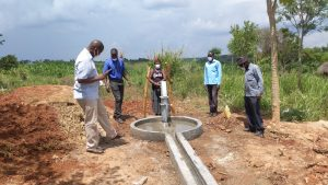 The Water Project:  Leaders Gathered For The Well Commissioning