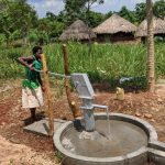 The Water Project: Alero B Community -  Pumping The Well