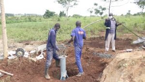 The Water Project:  Well Pump Work