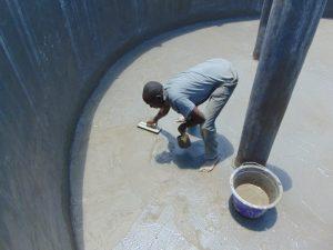 The Water Project:  Floor Plastering
