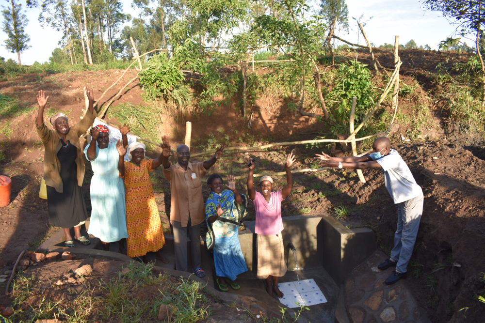 The Water Project : 2-kenya21305-handing-over-the-spring-to-the-community