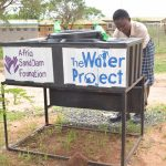 The Water Project: St. Paul Waita Secondary School -  Handwashing Station