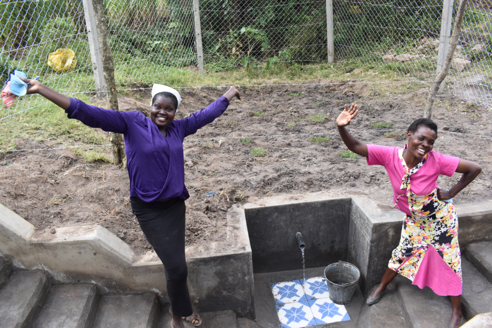 The Water Project : kenya21047-joy-of-clean-water-2
