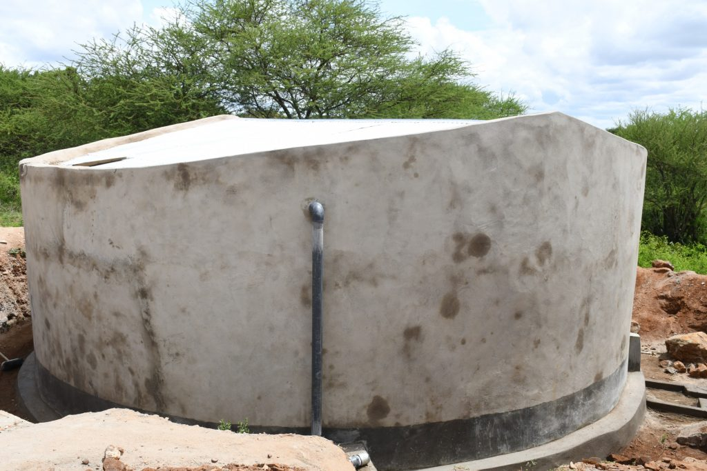The Water Project : kenya21451-completed-tank