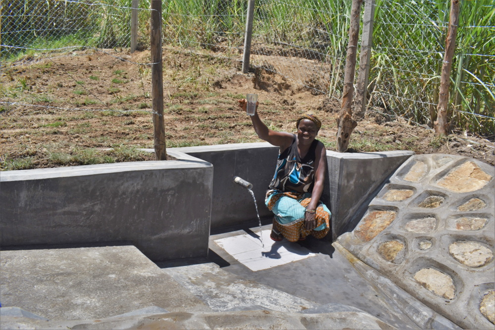 The Water Project : kenya21057-a-toast-to-clean-water