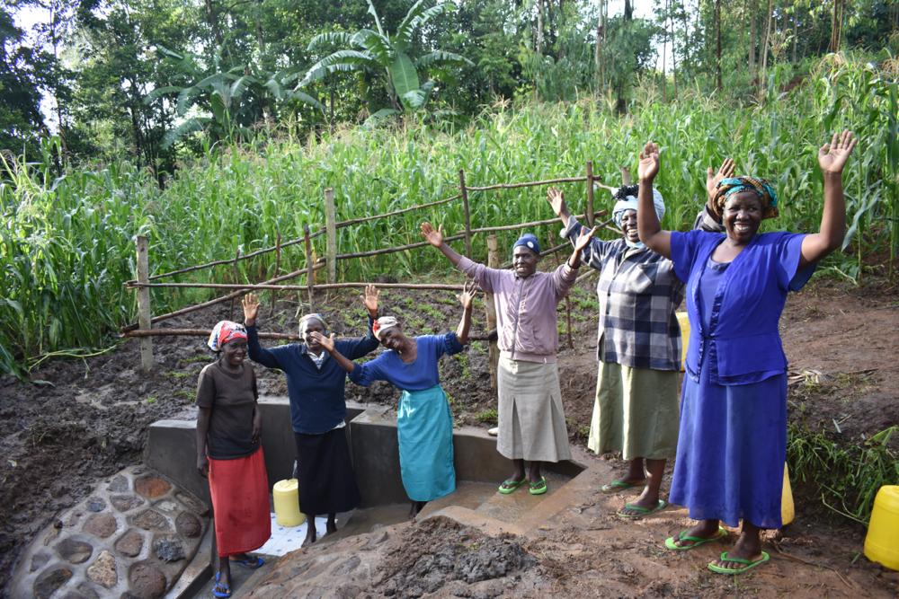 The Water Project : kenya21307-women-celebrate-with-joy