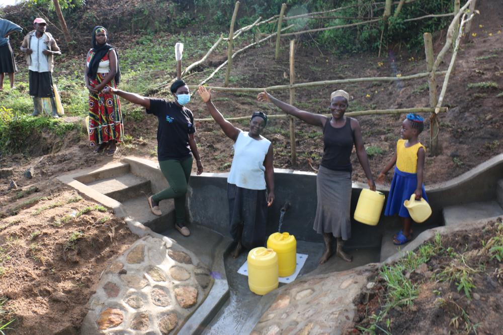 The Water Project : kenya21308-cheers-and-thanks-at-the-handing-over-celebration