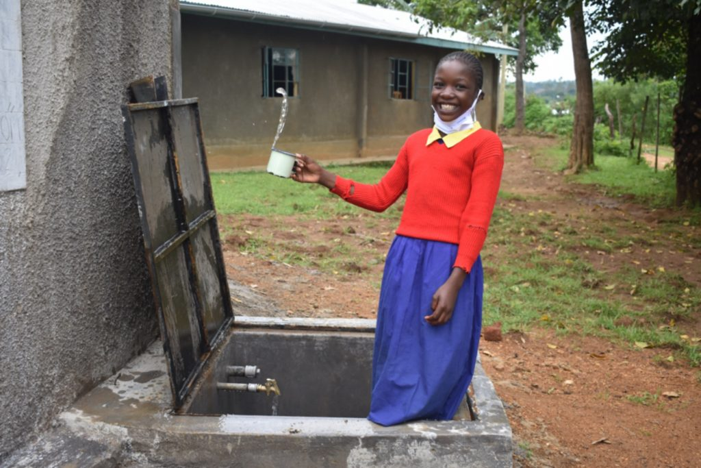 The Water Project : kenya21353-clean-water-at-the-school-5