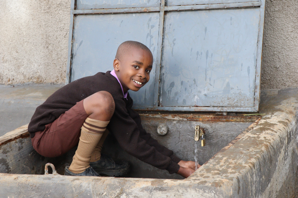 The Water Project : kenya21236-celebration-at-the-water-point-4-2