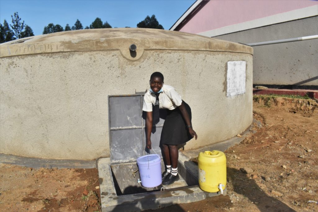 The Water Project : kenya21252-girl-collecting-water1