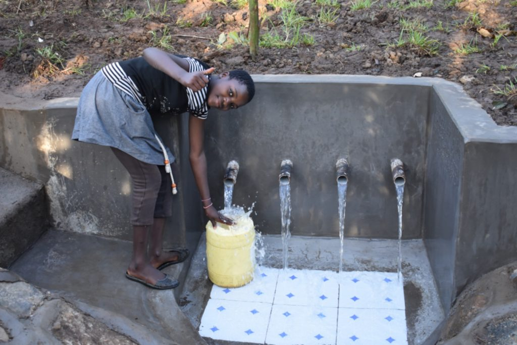 The Water Project : kenya21309-cheers-and-god-bless-you