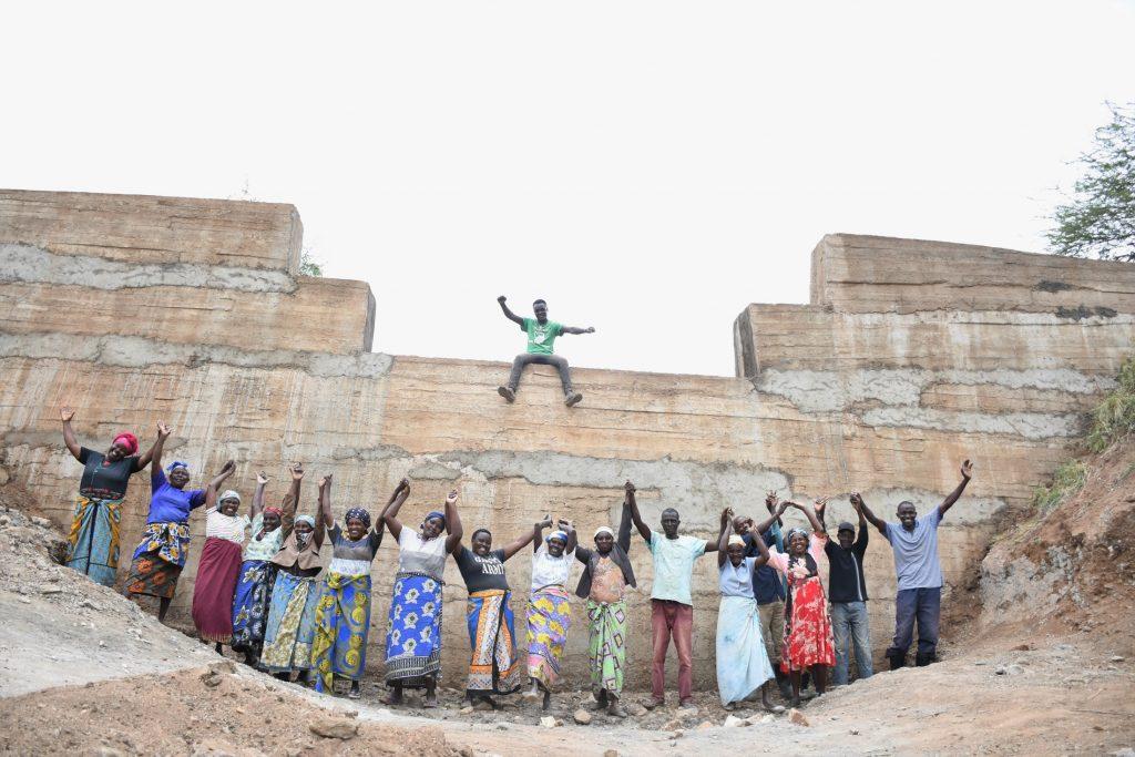 The Water Project : kenya21422-celebrating
