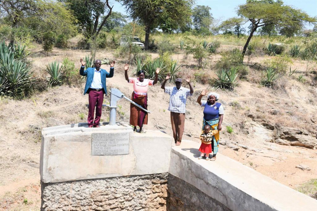 The Water Project : kenya21423-celebrating-the-well-10