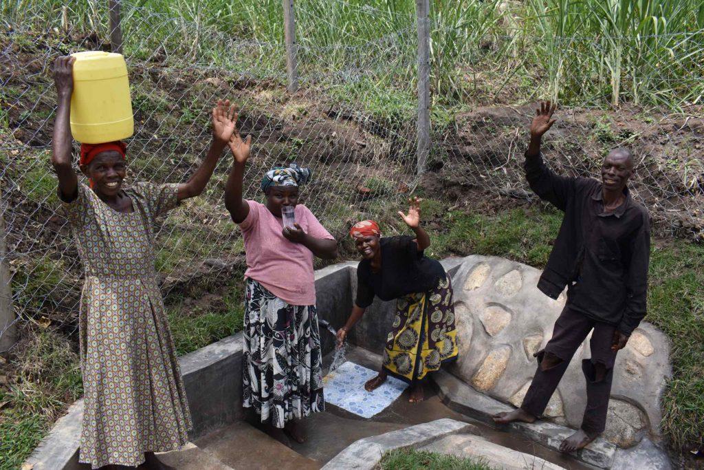 The Water Project : kenya21012-0-celebrating