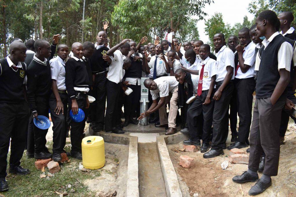 The Water Project : kenya21266-joyful-celebration