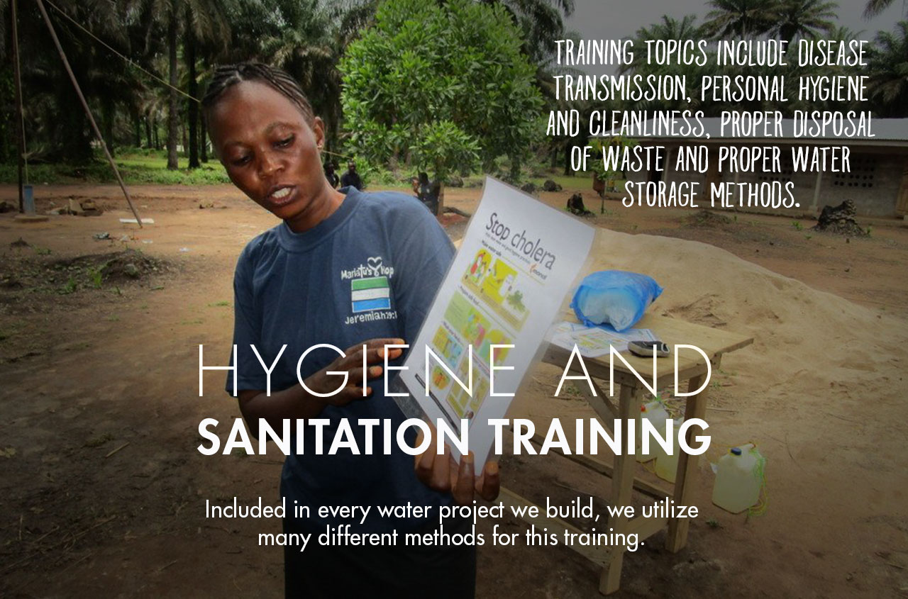Hygiene and Sanitation Training