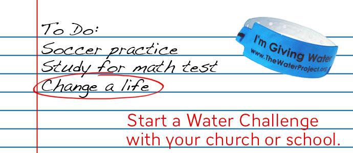 Start a Water Challenge