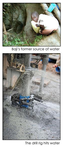 Water in Baji