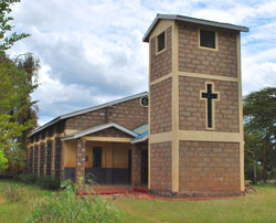 A church in Kenya