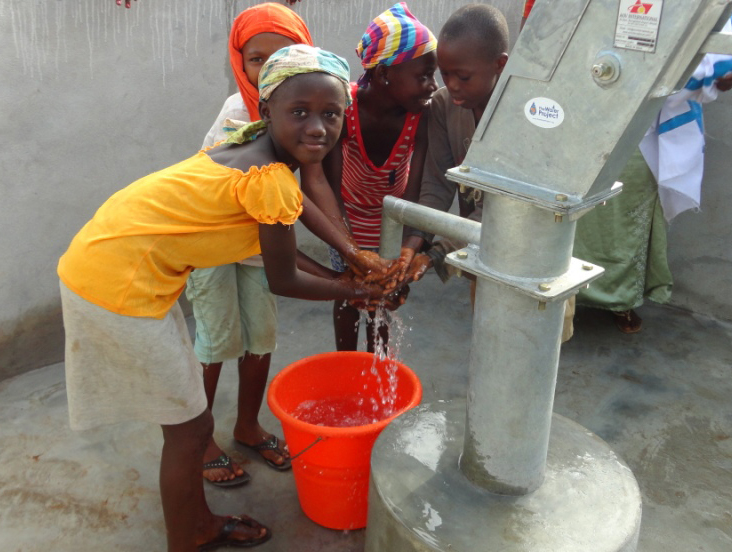 A new well in Sierra Leone