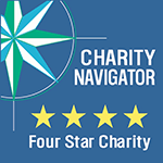 4-Star Charity Navigator Rated