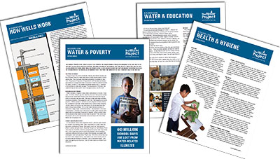 The Water Project Handouts