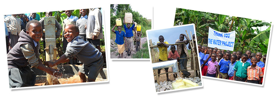 Give clean, safe water. Join the water project charity.