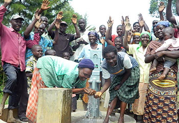 A new water project in rural Kenya