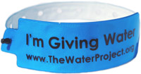 Give Water Wristband