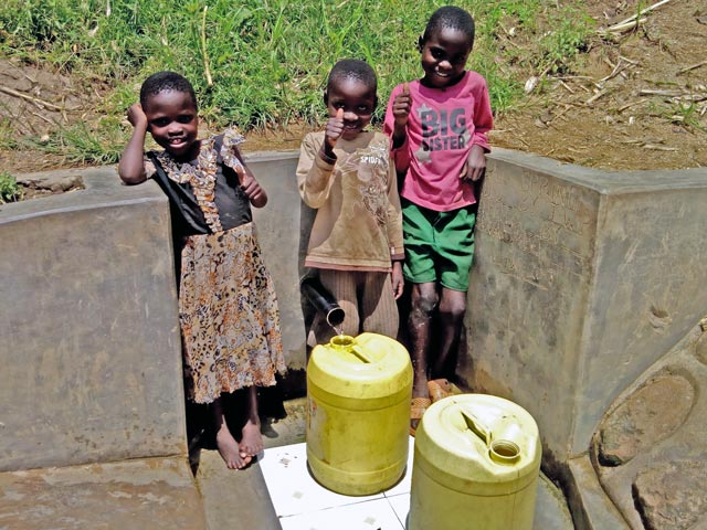 Donate $1,500 and Share in a Community Water Project
