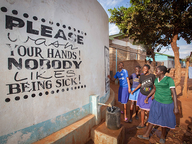 Donate $7,500 and Underwrite a School Water Point with Toilets