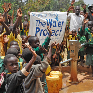 Complete water project in Uganda