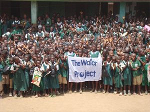 Take The Water Challenge to help build water projects.